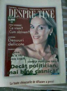 Gabrieala Firea, Gabriela Vranceanu Firea, retegan.ro, Cristian Retegan